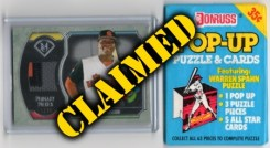 Baseball Prize Lot #11 - Claimed