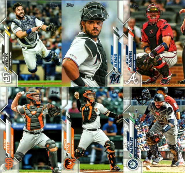 Compelling catcher cards--very nice job Topps!