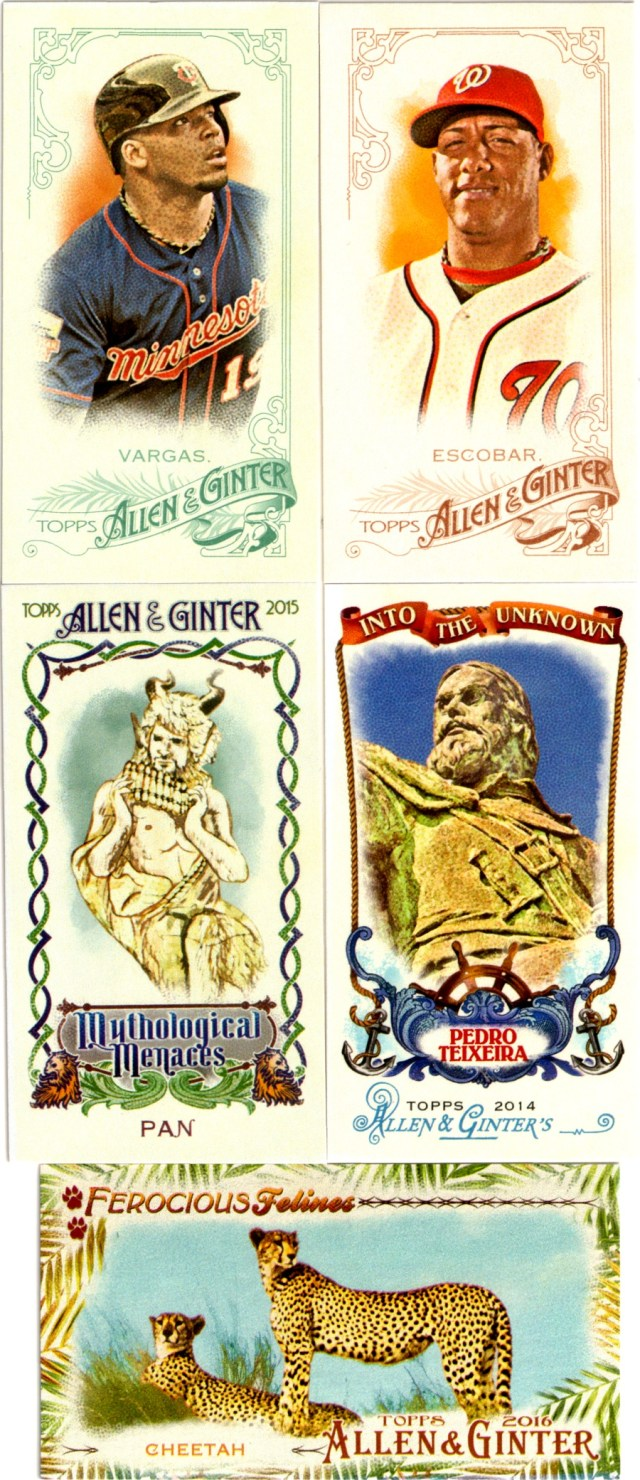More Allen & Ginter cards