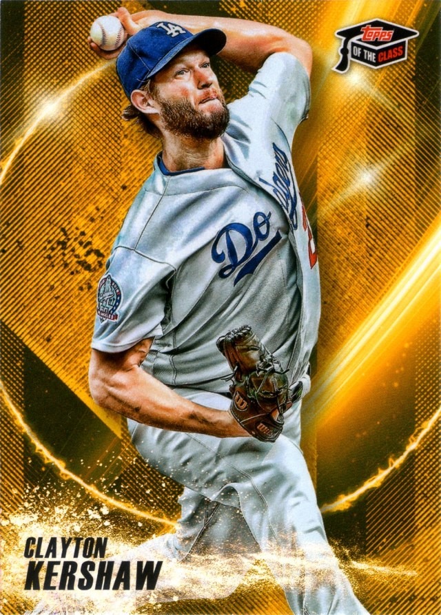 2019 Topps of the Class Greats Gold TCG-23
