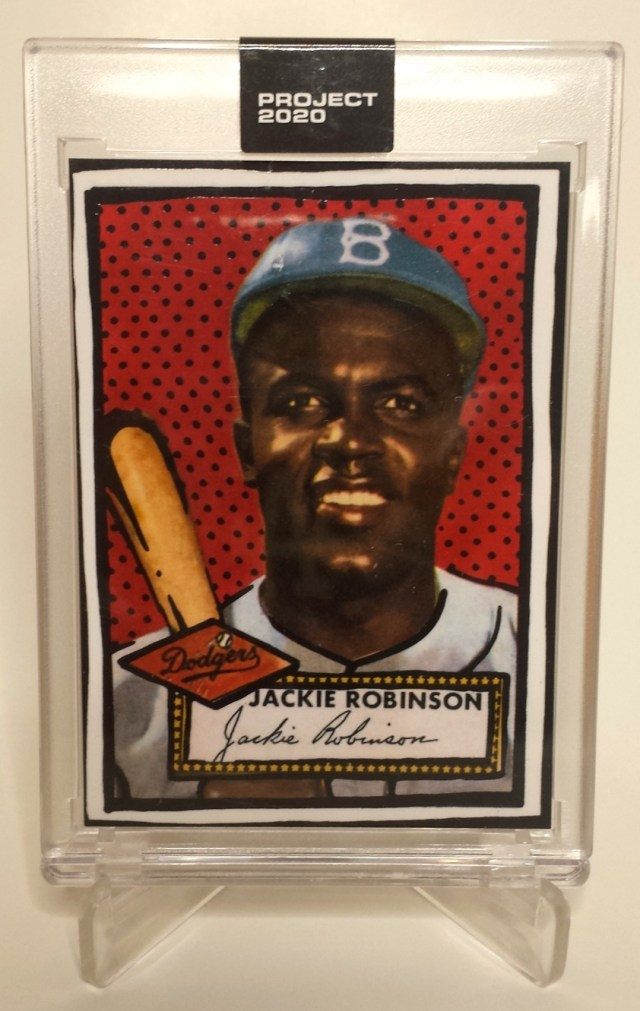 Topps Project 2020 #98 Jackie Robinson