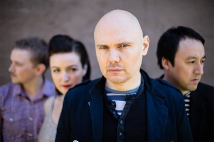 smashing pumpkins tour shiny and oh so bright tour