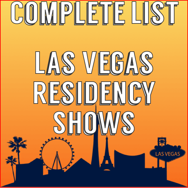 las vegas residency shows