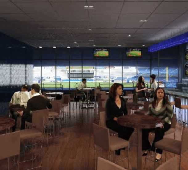 yankee stadium legends suite interior