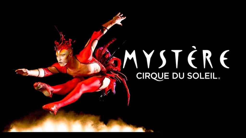 mystere tickets at the cirque du soleil