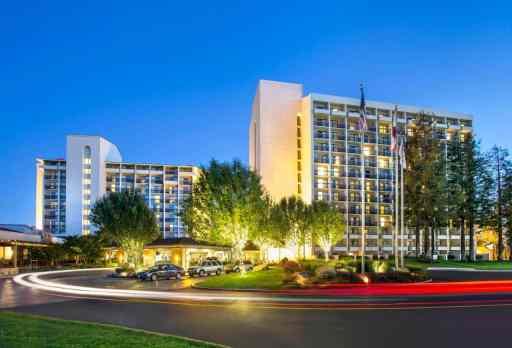 santa clara marriott hotel outside