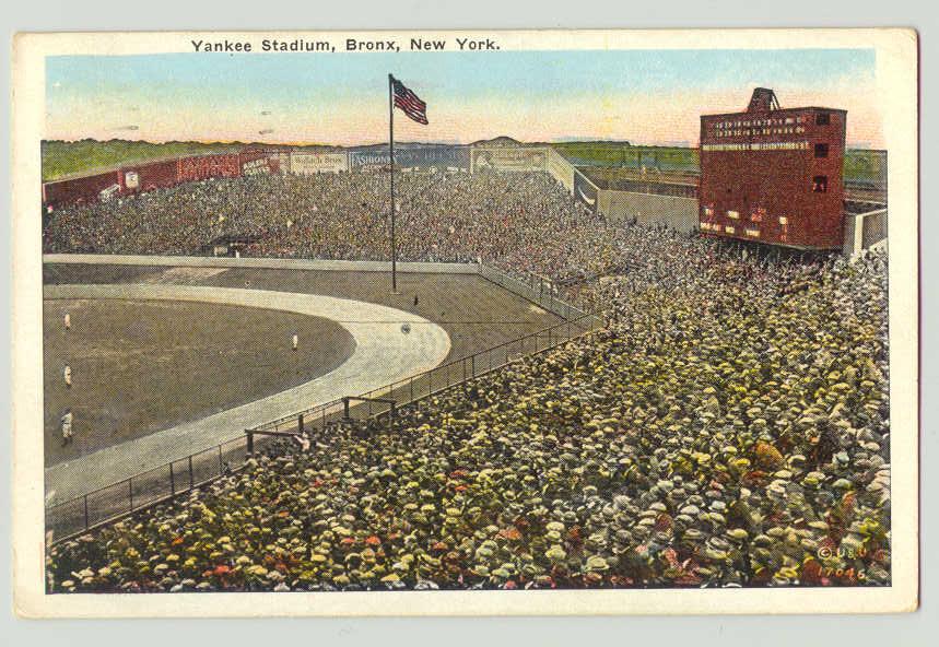 Yogi Berra Yankee Stadium