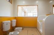 黄色のトイレ