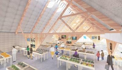 projectsに「道の駅北郷 設計デザインコンペ 応募案」を追加しました。