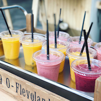 Stadsfruit-Smoothiebar huren