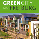 """Green City Map Freiburg. En turistkarta med information om """"hot spots"""" för den som är intresserad av hållbar utveckling."""