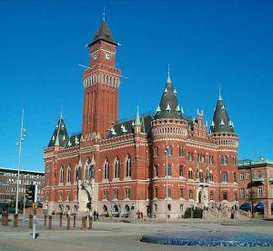 Rådhuset i Helsingborg. Foto: Jesper (Jsdo1980).
