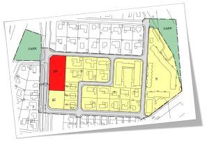 Plankarta (mycket förenklad) i Focus Detaljplan Total.