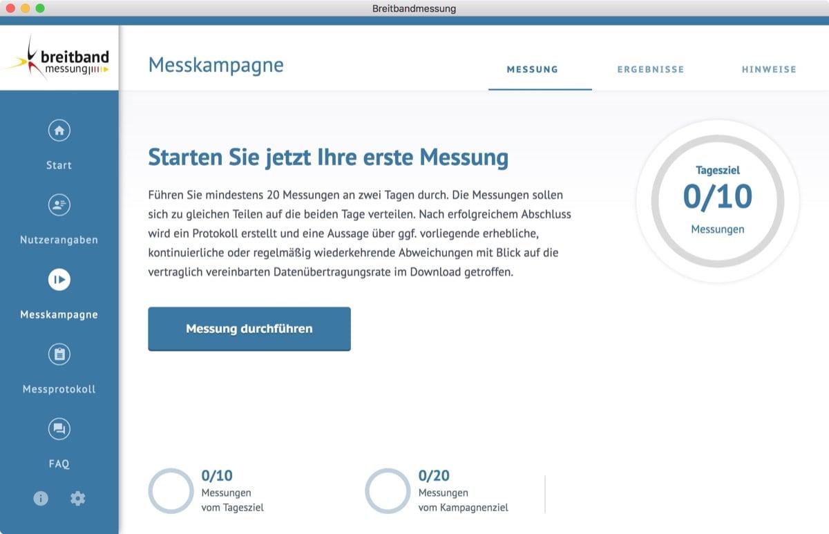 Bundesnetzagentur veröffentlicht Desktop-App zur Breitbandmessung