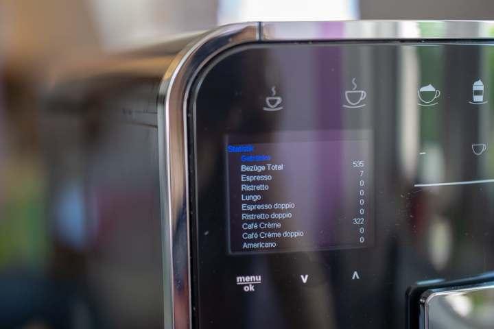 Siemens Kühlschrank Ok Aufkleber : Melitta barista ts smart im test: rundum guter kaffeevollautomat mit