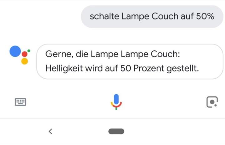 Google Assistant Besser Visualisierte Smart Home Steuerung