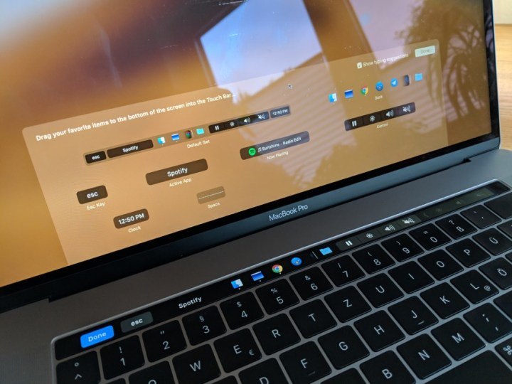 Energybar: Touch Bar des MacBook Pro anpassen