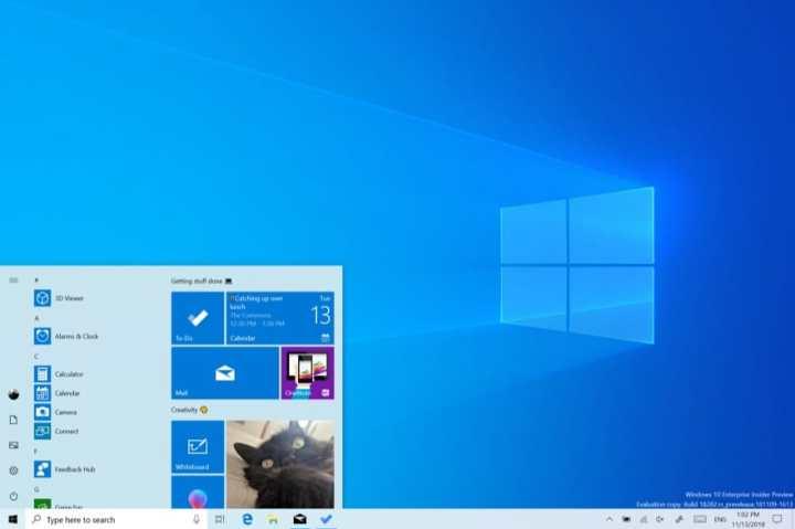 Windows 10: Neue Insider Preview Build 18908 verbessert Your Phone