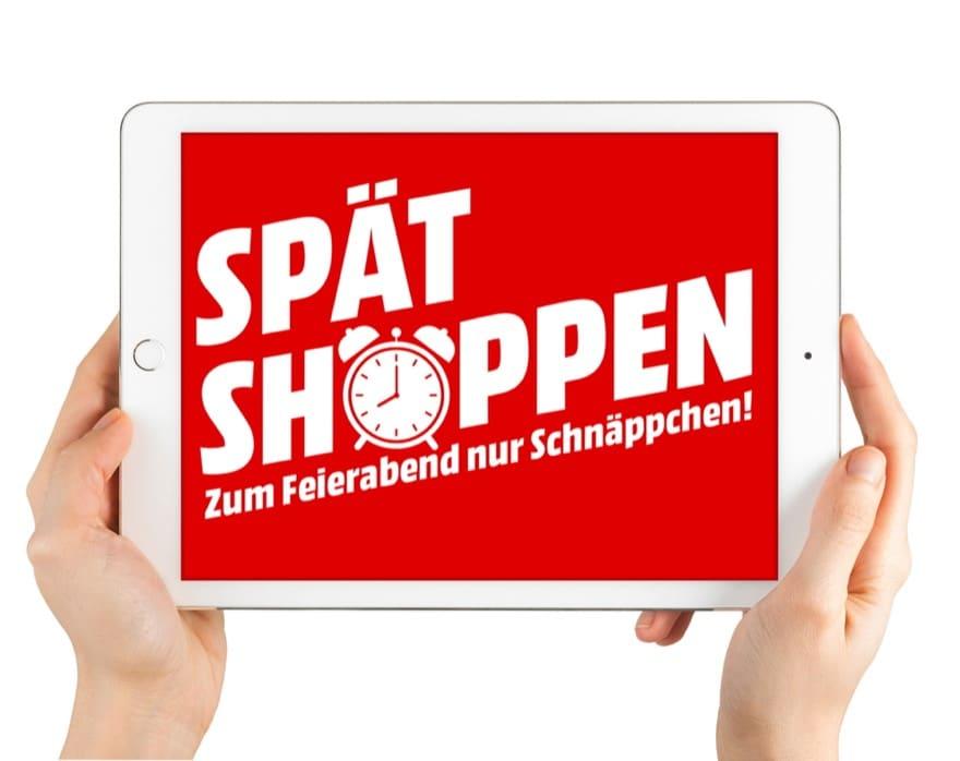 Mediamarkt Spätshoppen Aktion Soll In Den Online Shop Locken