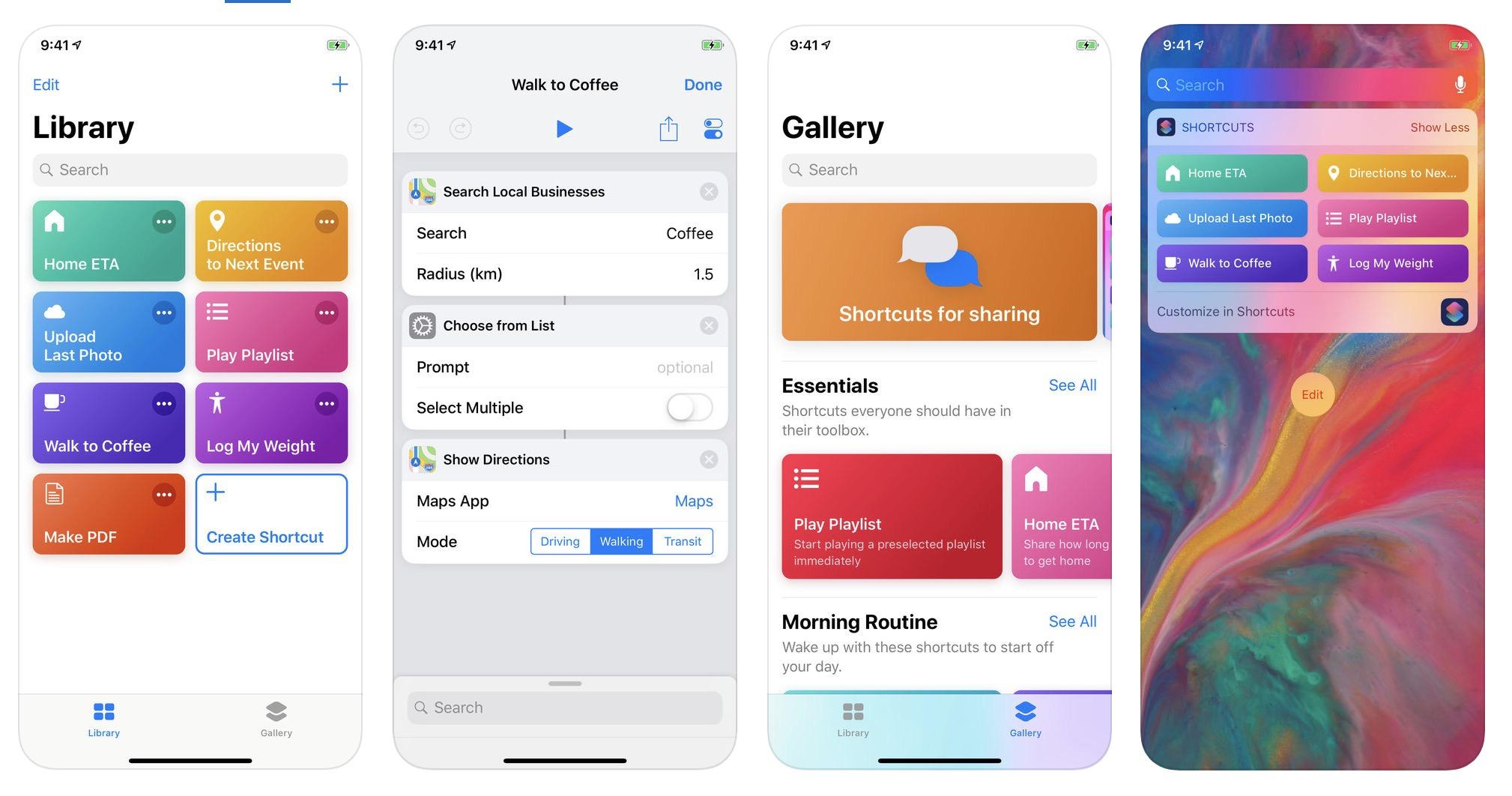 iOS: Rund 150 Kurzbefehle in einem Archiv