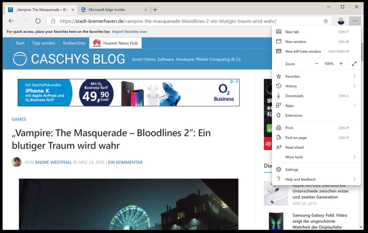 Microsoft Edge auf Chromium-Basis: Bereits als Download
