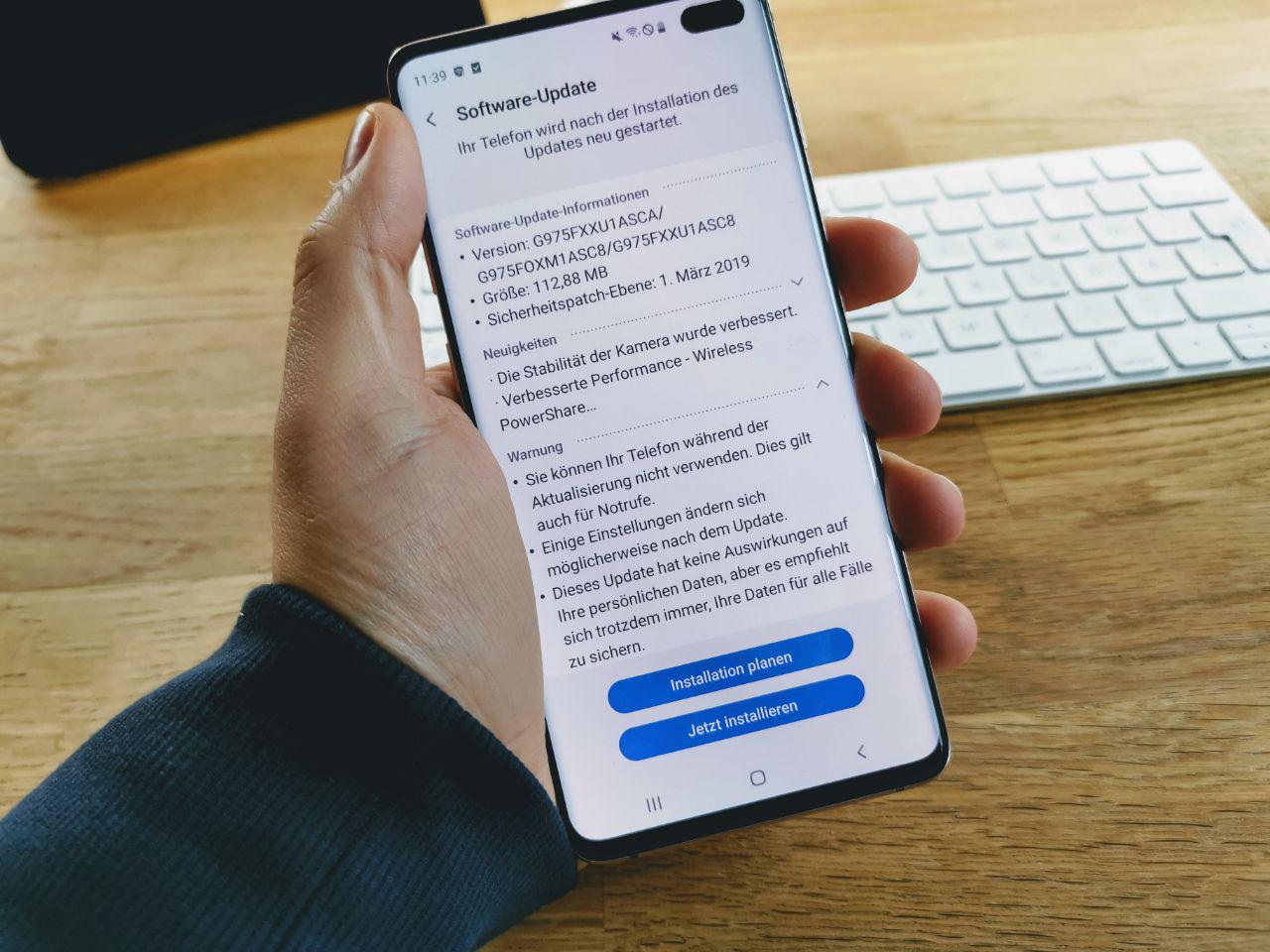 Samsung Galaxy S10, S10+ und S10e: Update mit Sicherheits-Patch März wird wieder verteilt