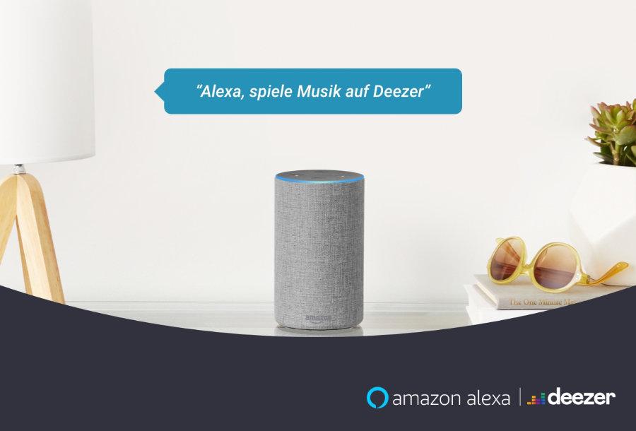 Deezer jetzt auch für Free-Nutzer über Alexa verfügbar