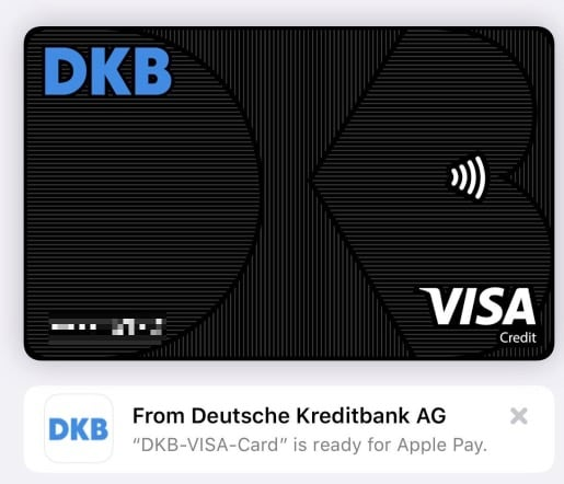 Dkb Karte.Dkb Startet Mit Apple Pay