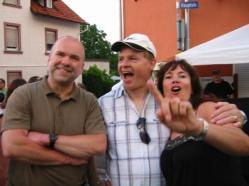 Haibach Dorffest Bilder - Ortskern - Kreuzung Kirche