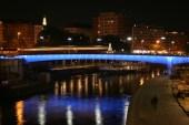 Wien - Donaukanal - Nacht -Brücken3