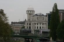 Wien - Donaukanal - Urania