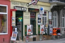 Wien - typischer Tabak-Trafik