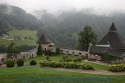 Burg Hohenwerfen Hof der Falkner