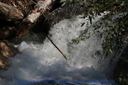 Großarl - auf dem Weg zur Kreealm - Wasserfall 001