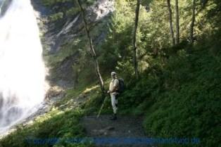 Großarl - auf dem Weg zur Kreealm - Wasserfall 011
