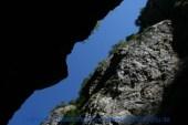 Liechtensteinklamm 522 Blick nach oben
