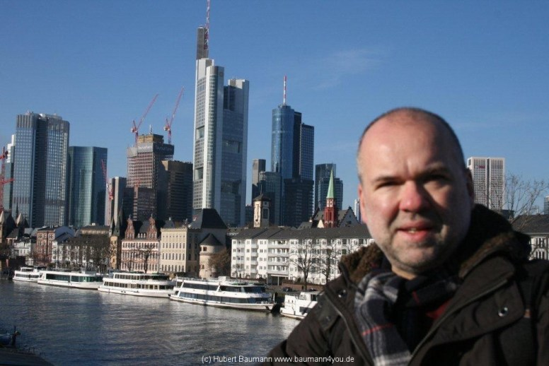 Frankfurt Skyline, Hubert Baumann