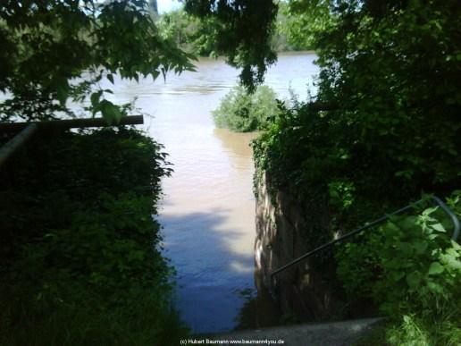 Aschaffenburg Hochwasser 2. Juni 2013 - 5