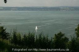 Blick vom Ödenstein auf den Bodensee