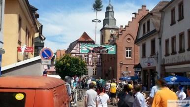 """""""Käferplage"""" und Trabbitreffen / Oldtimer in Obernburg 2014"""