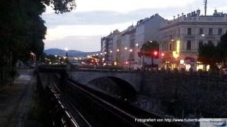 Abendstimmung an der Wien