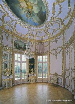 Stuttgart: Schloss Solitude, Beletage, Palmenzimmer