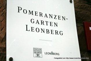 Leonberg Pomeranzengarten unterhalb des Schlosses