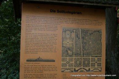 Schloss-Solitude Uebersicht Schlosspark