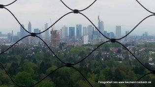 Blick vom Goetheturm Frankfurt Skyline