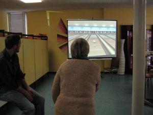Strike auf der Bowlingbahn!