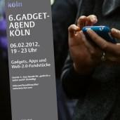 Poster Gadget-Abend