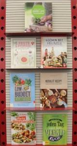 Vegetarische Bücher, eine Auswahl