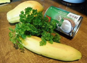 Mixed - neuen Smoothies - Papaya Petersilie (2)