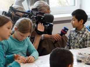Auch der WDR war neugierig, was sich bei uns tut. ©Stadtbibliothek Köln